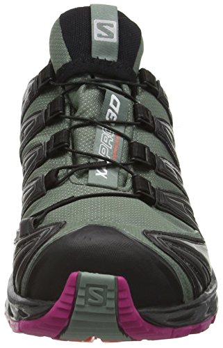 Salomon Damen Xa Pro 3d Gtx Traillaufschuhe Grau (light Titan / Black / Coral Punch)