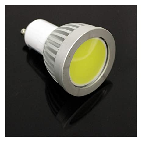 BeMatik - Bombilla LED COB GU10 230VAC 4W 90° 50mm luz día