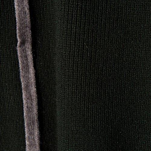 b5ddeed0155abb ... vogueearth Damen s Lang Hülse TurtleHals Knit Thick Basic Sweater  Sweatshirt Pullover Dunkel Grün 3ssqS6eOL ...