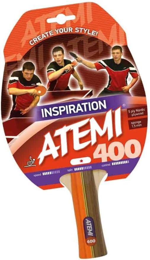 Atemi 400 - Raqueta de Tenis de Mesa