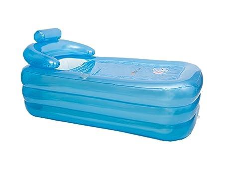 Vasca Da Bagno Pieghevole Adulti : Vasca da bagno gonfiabile protezione ambientale in plastica
