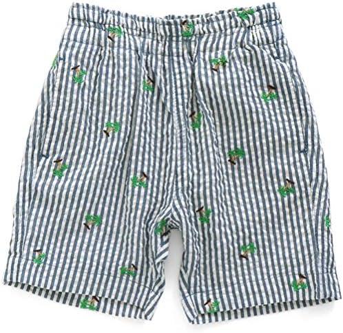 パームツリー刺繍パンツ