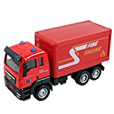 Aivtalk Transport Car Carrier lorry Truck Toy for Boys - Red