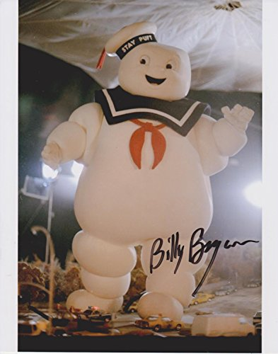Billy Bryan Ghostbusters Stay Puft Marshmallow Man #13 Original Autographed 8x10 Photo