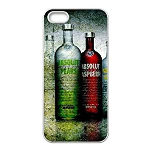 iPhone 5 5s Cell Phone Case White Vodka Absolut X8V4FC