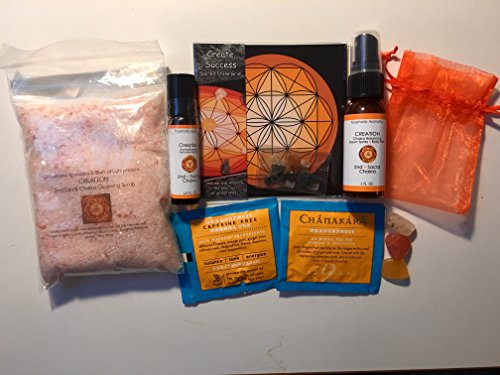 creation-2nd-sacral-chakra-healing-kit-with-chakra-balancing-aromatherapy-products-sacred-stone-grid