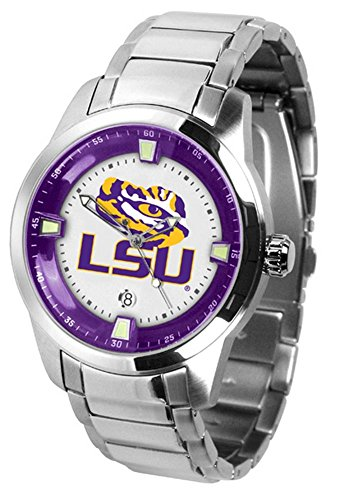 LSU Tigers Titan Steel Men's Watch