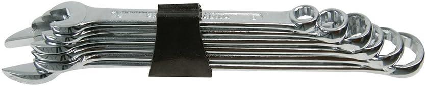 #SP10 Silverline Combination Spanner Set 6 piece 8-17mm Metric workshop DIY