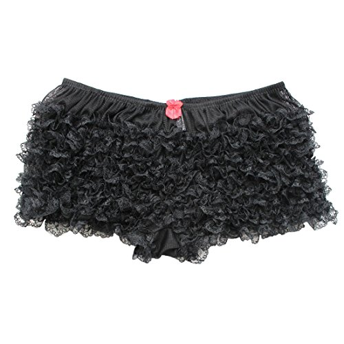 Black Ruffled Panties - 9