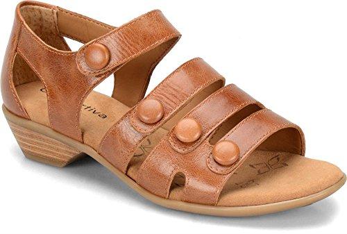 Comfortiva Women's, Reading Low Heel Sandals Cork 8 M