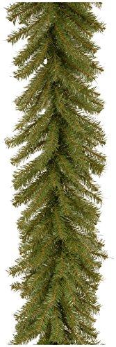 National Tree Norwood Fir Garland, 9 Feet, 12 - Norwood Fir Garland