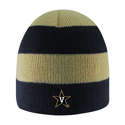 Vanderbilt University Rugby Striped Knit Beanie ()