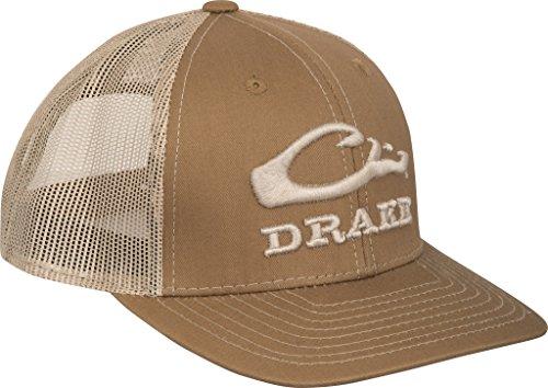 Back Logo Cap Hat - Drake Logo Mesh Back Cap