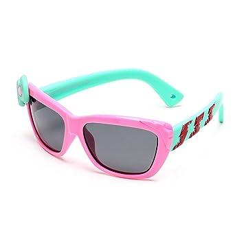 Niños Clásicos Polarizados Gafas De Sol Material De Silicona, Seguro Y Seguro-UV400 Protección Unisex,2: Amazon.es: Deportes y aire libre