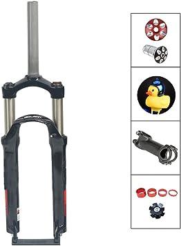 QQKJ Horquillas de Bicicleta de montaña Horquilla mecánica 24 ...