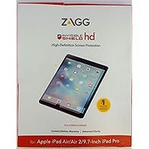 "Zagg InvisibleShield HD Screen Protector for Apple iPad Pro 9.7"", Air & Air 2"