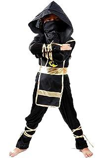 Disfraz de ninja - niño - 4/6 años - vestido - samurai - niño ...