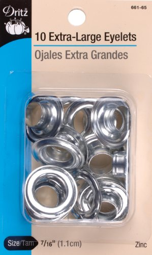 Price comparison product image Dritz Extra Large Eyelet Refill - Zinc