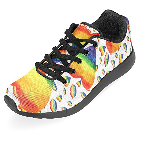 InterestPrint Womens Jogging Running Sneaker Lightweight Go Easy Walking Casual Comfort Running Shoes Multi 26 AQHtn