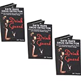 Ladies Night Out Bundle: Drink Guard Date Rape Drug Detector - Lot of 3 Pieces