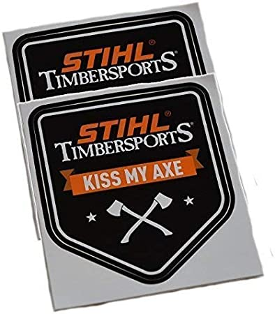 Stihl Aufkleber Timbersports 7 8 X 8 5 Cm 2 Stück