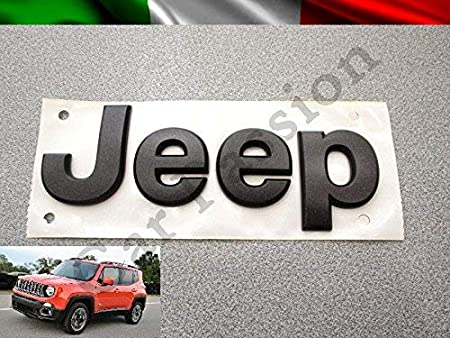 Scritta Stemma Logo Jeep Renegade Cherokee Grand Cherokee Compass