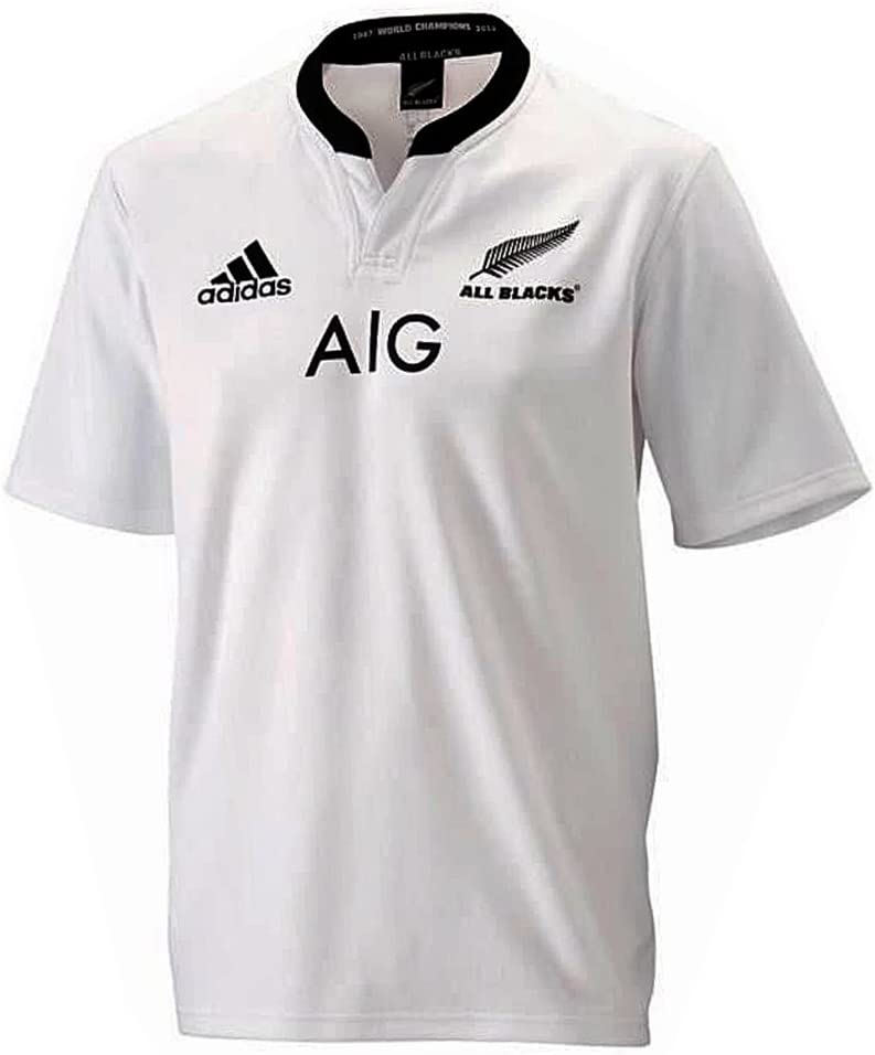 adidas Performance-Maillot de Rugby All Blacks AB SS JSY Blanco ...