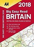AA Big Easy Read Britain 2018 (AA Road Atlas) (Aa Road Atlas Britain)