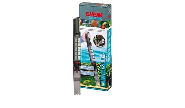 Wangado EHEIM Quick vacpro aspirador Aparato A Pilas, funciona como un Aspiradora sumergible y garantiza la limpieza de acuario sin Continue sostituzioni de agua.: Amazon.es: Jardín