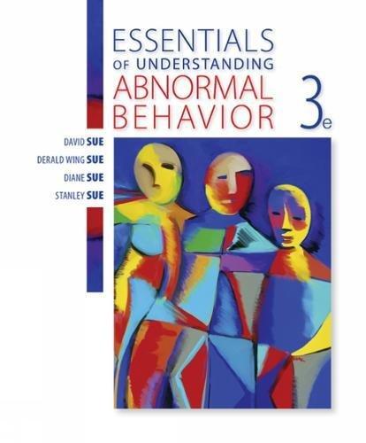 Essentials of Understanding Abnormal Behavior (MindTap for Psychology)