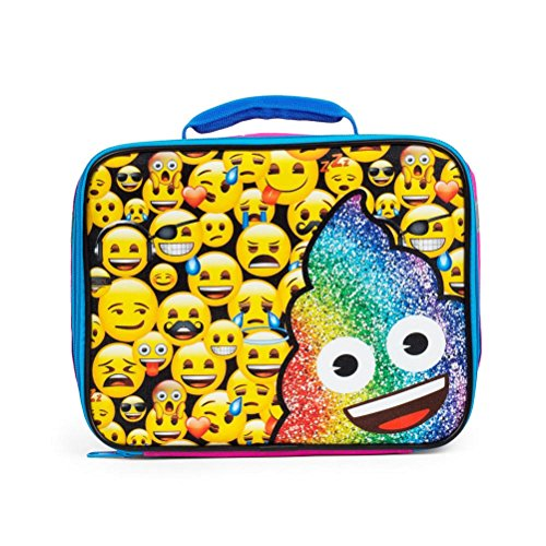Emoji Rainbow Poo Insulated Lunch Box