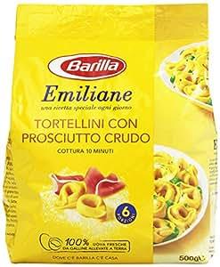 Barilla - Emiliane, Tortellini con Prosciutto Crudo , 500 g