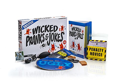 Wicked Pranks and Jokes For Ages 8+ Includes Selfie Phone Squirter