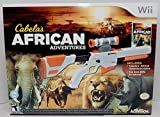 Wii/Wii-U Cabela's African Adventures Game w/Top Shot Elite Set 2-GUN BUNDLE