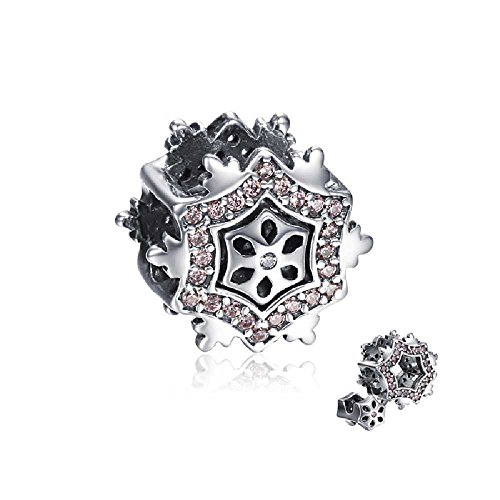 soufeel-925-sterling-silver-double-deck-pink-snowflake-charm