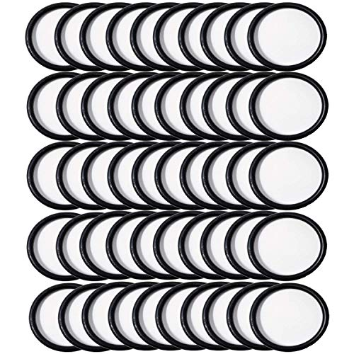 ZVac Hoover Convertible 50 Pack Round Belts Bulk Vacuum Belts Generic Replaces OEM 44783AG,40201048, H49258, 049258AG, AH20075