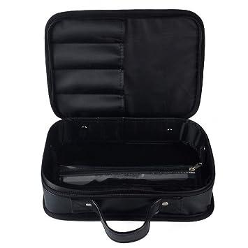 10ebb9af89e6 Amazon.com   Professional Hair Stylist Traveling Case Hairdresser Organizer  Bag Portable Clipper Comb Scissors Case