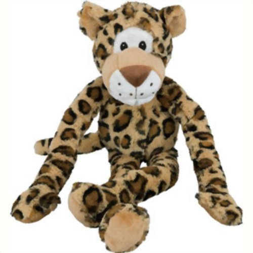 Multipet Swinging Safari Monkey, Leopard, Giraffe, Elephant (Leopard Long Extra)