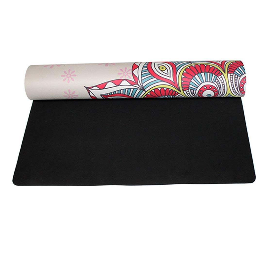 AROTOVL Die Yogamatte ist eine 4 Millimeter grüne und köstliche Trainingsmatte Yogamatte. (Größe   183  68)