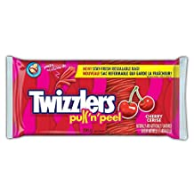 Twizzlers Cherry Pull N Peel Party Pack, 396 Gram