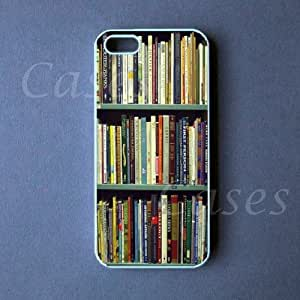BOOKSHELF IPHONE5CASE Pretty GEEKY Custom Iphone 5 Cover LOVELY FASHION UNIQUE CUTE by ruishername