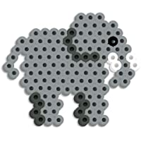 Perler Kit de abalorio con diseño de Elefantes, Elefante, 1