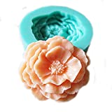 Yunko Single Flower Silicone Fondant Cake Decorating Tool Chocolate Candy Sugar Mold Mould