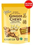 Prince Of Peace 100 Percent Natural Ginger Candy Chews, 4.4 Ounce