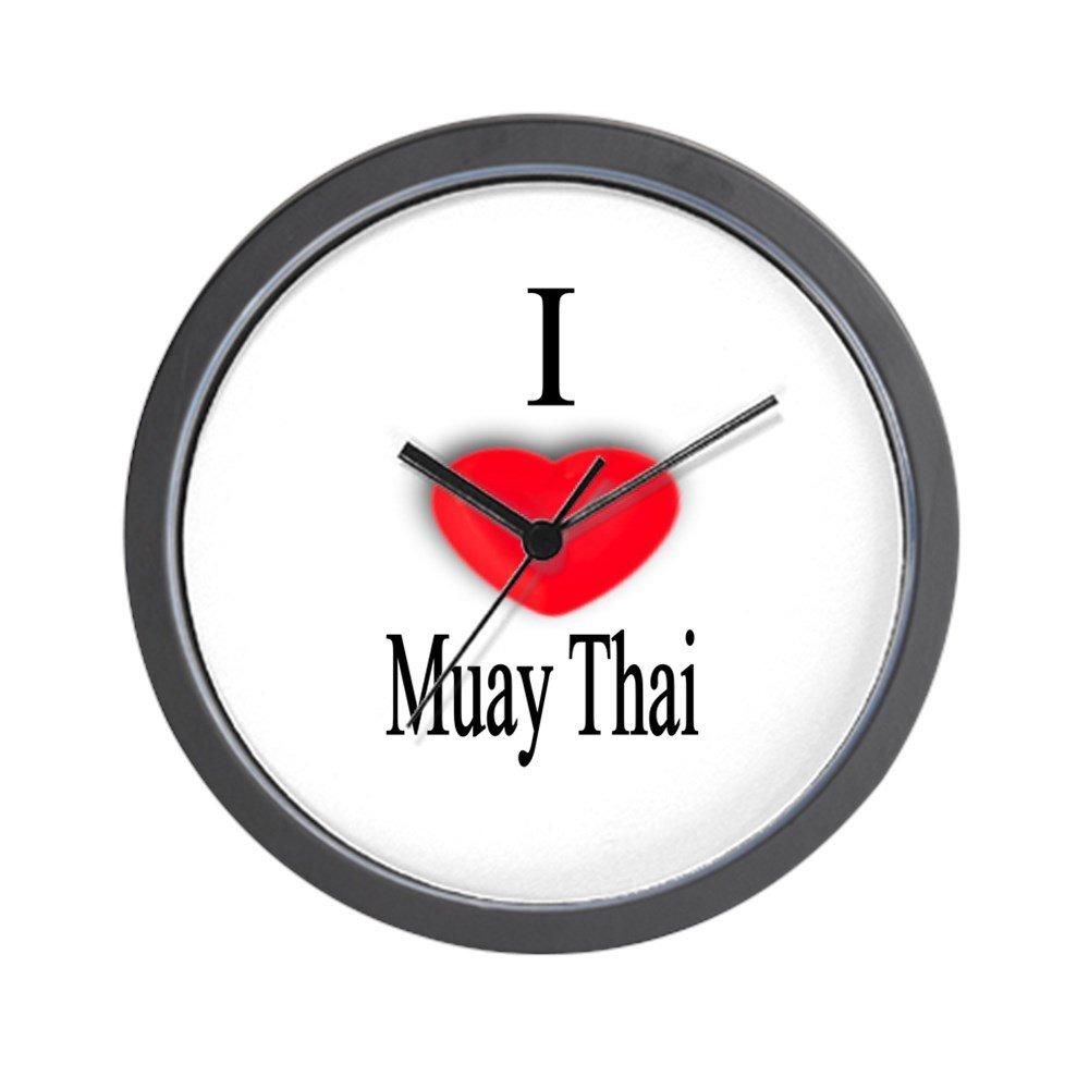 CafePress - Muay Thai Wall Clock - Unique Decorative 10'' Wall Clock