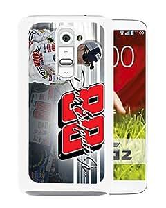 LG G2 Case,Dale Earnhardt Jr 2 White For LG G2 Case