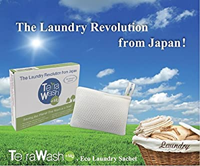 Terra Wash + Mg Eco Laundry Sachet - Reusable for 365 washes!