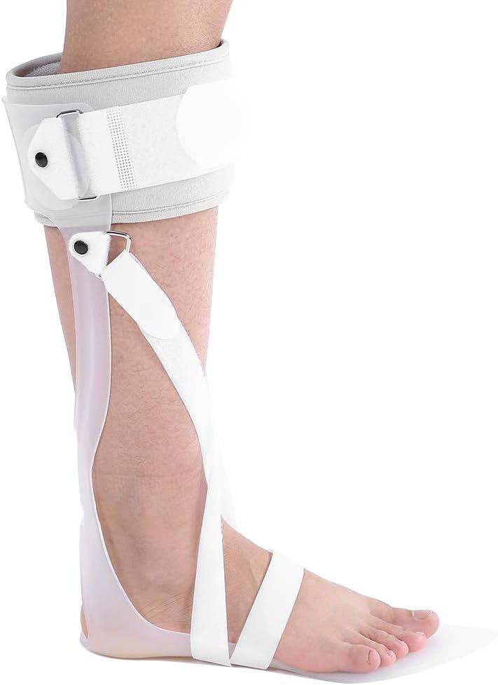 Filfeel Soporte para el Tobillo, ortesis la caída del pie, férula ortodoncia ortopédica, Aprobado por FDA(Right L)