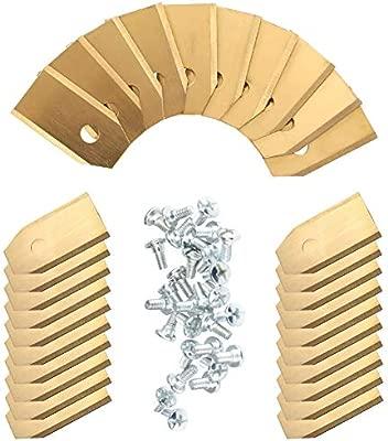 Segadoras de cuchillas de titanio SAIYU 30 Pack Segadora de ...