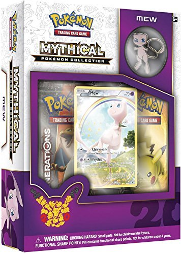 TCG: Mythical Pokemon Collection-Mew Car